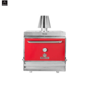 Red Charcoal Oven HMB 75