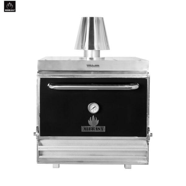 Black MIBRASA Charcoal Oven HMB 110