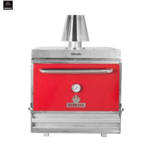 Red MIBRASA Charcoal Oven HMB 110