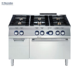 Electrolux 700XP 6-Burner Gas Range on Gas Oven with Cupboard 371005
