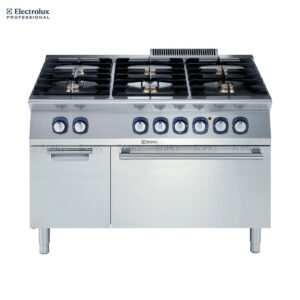 Electrolux 700XP 6-Burner Gas Range on Electric Oven with Cupboard 371006