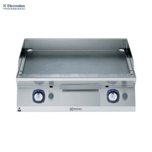 Electrolux 700XP 800mm Gas Fry Top, Smooth Brushed Chrome Plate 371330