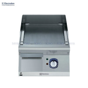 Electrolux 700XP 400mm Electric Fry Top, Smooth Brushed Chrome Plate 371325