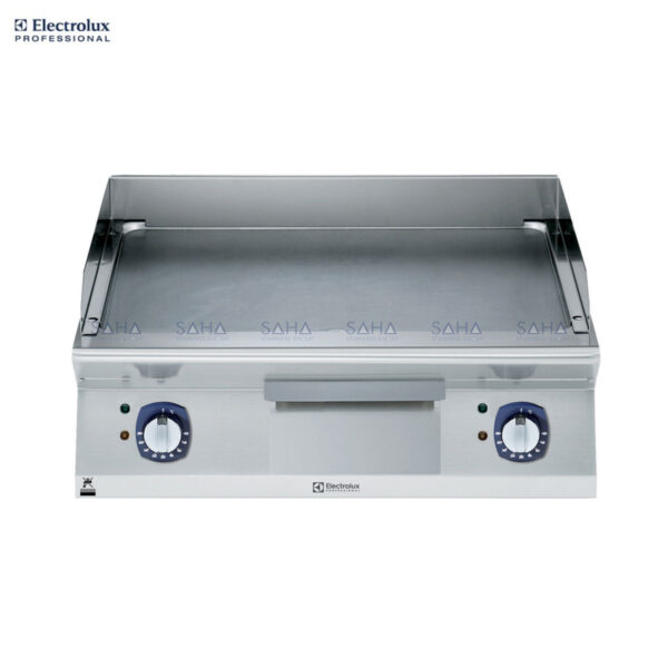 Electrolux 700XP 800mm Electric Fry Top, Smooth Brushed Chrome Plate 371322