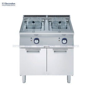 Electrolux 700XP Two Well Freestanding Electric Fryer 15 liter 371082