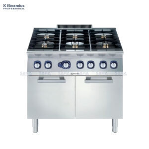 Electrolux 700XP 6-Burner Gas Range on Large Gas Oven 371215