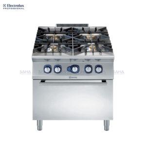 Electrolux 900XP 4-Burner Gas Range on Gas Oven 391005