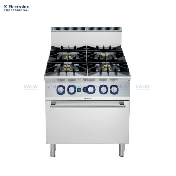 Electrolux 900XP 4-Burner Gas Range on Convection Oven 391008