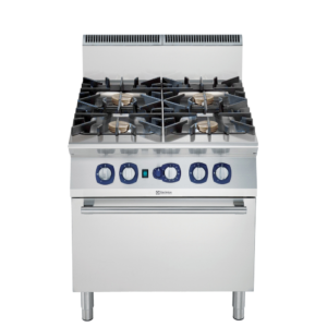 Electrolux 900XP 4-Burner Gas Range 10 kW on Convection Oven 391009