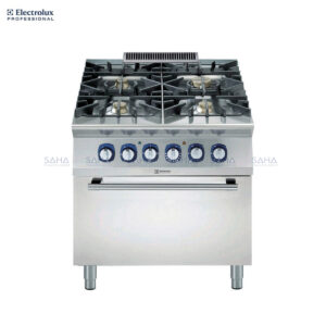 Electrolux 900XP 4-Burner Gas Range on Electric Oven 391010