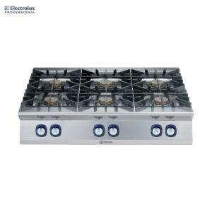 Electrolux 900XP 6-Burner Gas Boiling Top, 10 kW 391012