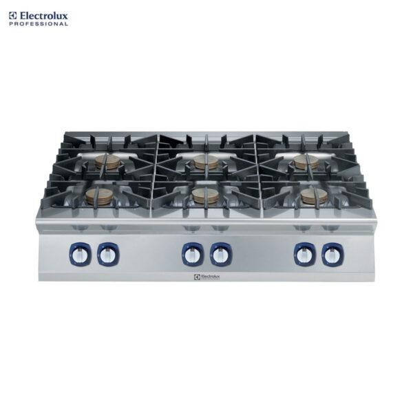 Electrolux 900XP 6-Burner Gas Boiling Top, 10 kW 391012