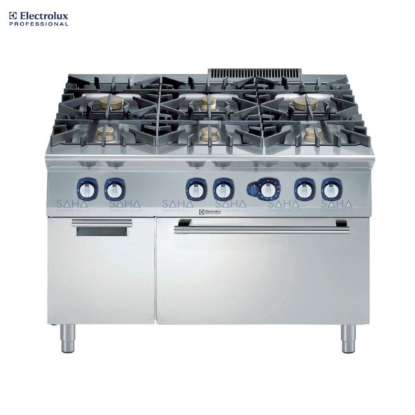 Electrolux 900XP 6-Burner Gas Range on Gas Oven with Cupboard 391013