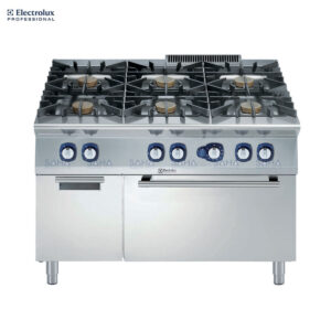 Electrolux 900XP 6-Burner Gas Range 10 kW on Gas Oven with Cupboard 391014