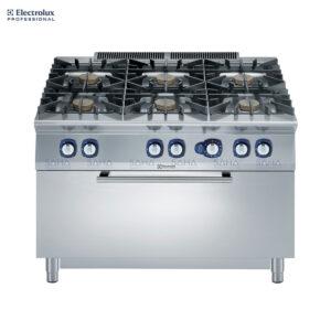 Electrolux 900XP 6-Burner Gas Range 10 kW on Large Gas Oven 391016