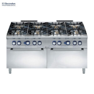 Electrolux 900XP 8-Burner Gas Range on 2 Gas Oven 391017