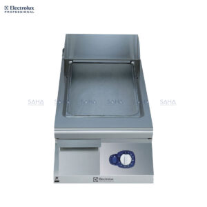 Electrolux 900XP 400mm Gas Fry Top, Smooth Brushed Chrome Plate 391402
