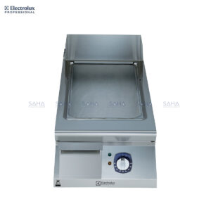 Electrolux 900XP 400mm Electric Fry Top, Smooth Brushed Chrome Plate 391398