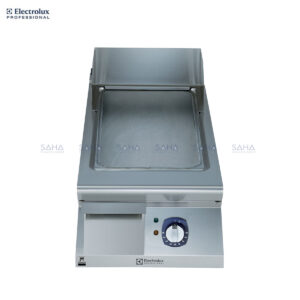 Electrolux 900XP 400mm Electric Fry Top, Smooth Brushed Chrome Plate 391357