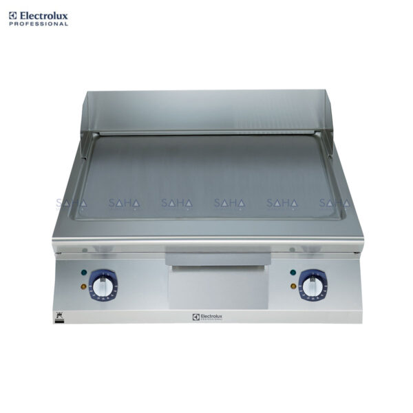 Electrolux 900XP 800mm Electric Fry Top, Smooth Brushed Chrome Plate 391400