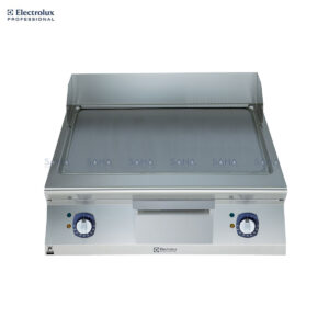 Electrolux 900XP 800mm Electric Fry Top, Smooth Brushed Chrome Plate 391399