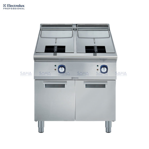 Electrolux 900XP Two Well Electric Fryer 15 liter 391088