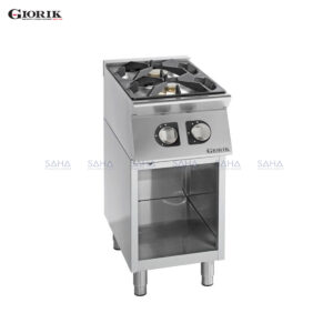 Giorik Unika 700 2 Burner Gas Range On Open Base Unit CG720G