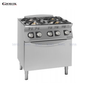 Giorik Unika 700 4 Burner Gas Range On Gas Oven CG740F