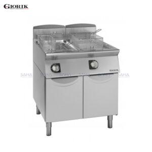 Giorik Unika 700 13+13 Litre Gas Fryer FG7213T