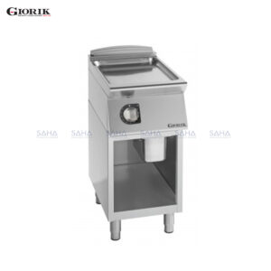 Giorik Unika 700 Electric Fry Top With Open Unit, Duplex 2304 Smooth Plate FLE72GX