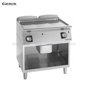Giorik Unika 700 Gas Fry Top With Open Unit, Duplex 2304 Smooth Plate FLG741GX