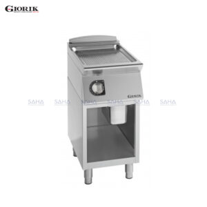Giorik Unika 700 Electric Fry Top With Open Unit, Duplex 2304 Ribbed Plate FRE72GX