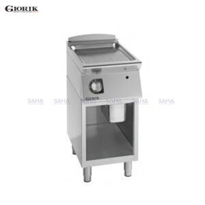Giorik Unika 700 Gas Fry Top With Open Unit, Duplex 2304 Ribbed Plate FRG72GX