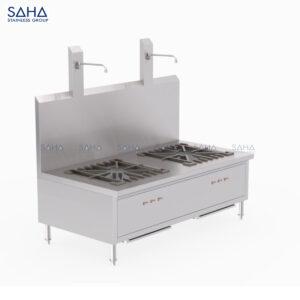 SAHA - 2-Stock Pot Stove - SHRG121