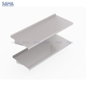 SAHA - Double Solid Wall Shelf – SHSH201