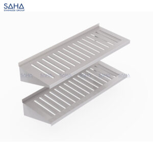 SAHA - Double Slatted Wall Shelf – SHSH401