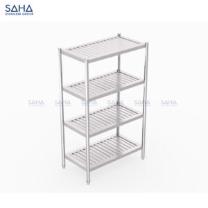 SAHA - 4-Tier Slatted Shelf – SHSH601