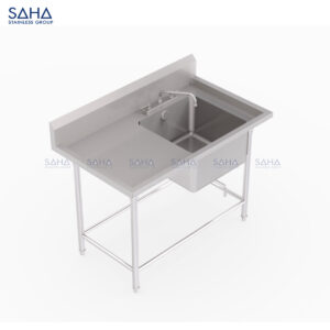 SAHA - 1-Right Hand Bowl Sink – SHSK203