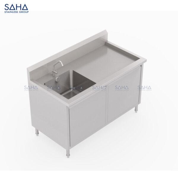 SAHA - 1 Left-Hand Bowl Sink Cabinet – SHSK403