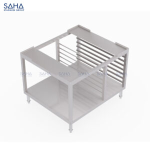 SAHA - Stand With Tray Storage And Undershelf - SHST101