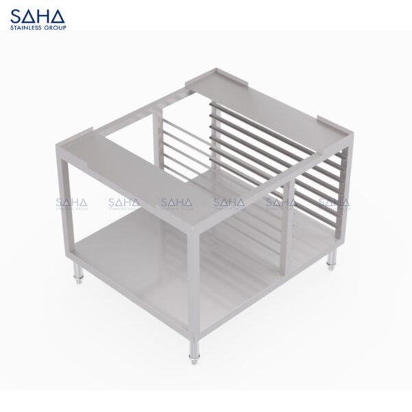 SAHA - Stand With Tray Storage And Undershelf - SHST101
