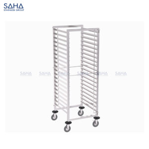 SAHA - Tray Trolley With 2-side Tray Guard - SHTL201