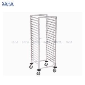 SAHA - Tray Trolley With 2-side Tray Guard - SHTL201