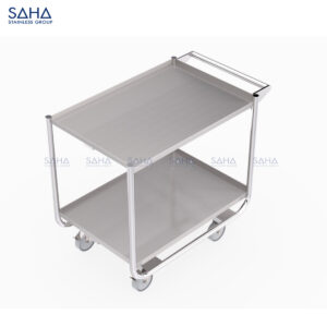 SAHA - 2-Tier Utility Cart - SHTL301
