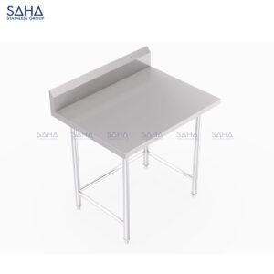 SAHA - Table With Bracing and Backsplash – SHWT101