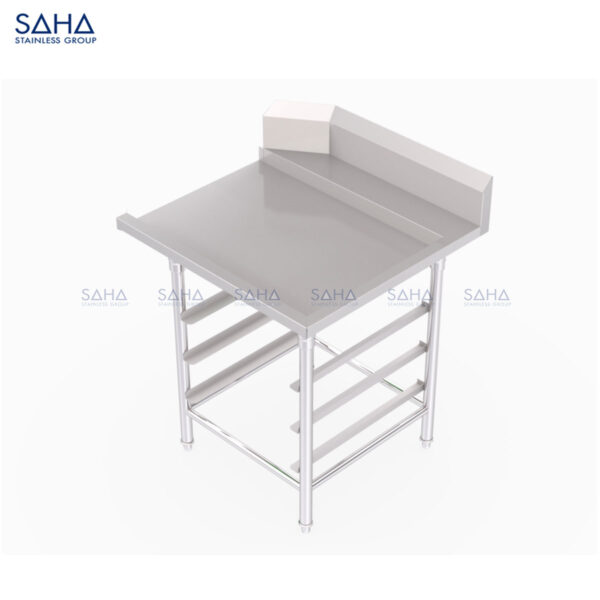 SAHA - Clean Dish Table With Rack Slides and Blacksplash – SHWT501