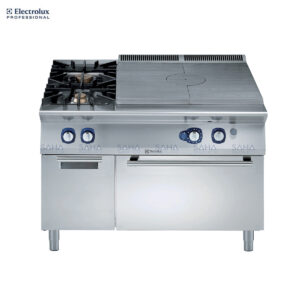 Electrolux - 900XP - Gas Solid Top on Gas Oven with 2 Burners on cupboard - 391021