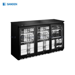 Sanden – 3 Doors - Back Bar Cooler - SBB-0325