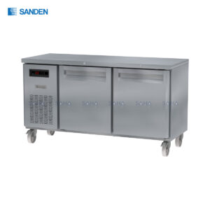 Sanden – 2 Doors – Under Counter Freezer - SCF3-1206-AR