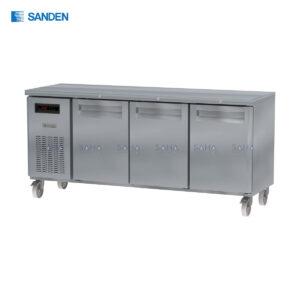 Sanden – 3 Doors – Under Counter Freezer - SCF3-1806-AR